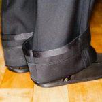 Как подшить брюки с помощью ленты клейкой, ленты паутинки и тесьмы