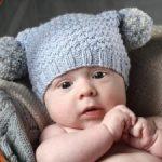 Как связать спицами шапку для новорожденного (схемы) (на зиму для мальчика), шапочка английской