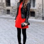 Какие колготки одеть под красное платье варианты и рекомендации