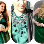 Какие украшения подходят к зелёному платью Правила подбора украшений