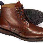 С чем носить коричневые ботинки мужчине брюки, верхняя одежда, цветовые сочетания