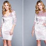 Платье из вельвета своими руками – выкройки и пошив платья