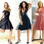 Модели платьев для невысоких женщин (фото)