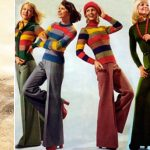 Брюки-клёш модные фасоны, виды, с чем носить