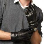 Таблица размеров мужских перчаток