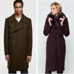 С чем носить коричневое пальто (женское и мужское) стиль и фасон, сочетания цветов, обувь и