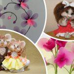 Поделки из капроновых колготок своими руками, мастер-класс кукла, цветы, вазы и абажуры