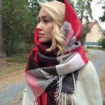 Как носить палантин на голове с пальто простые и оригинальные способы