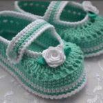 Пинетки-туфельки крючком как связать пинетки-туфельки крючком