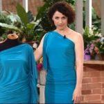 Как сшить платье из вискозы своими руками в домашних условиях