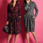 С чем носить платье осенью модные тенденции на осень