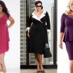 Фасоны платьев для полных женщин маленького роста что следует избегать полным дамам