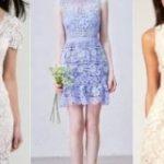Платья из гипюра 2019 новинки моделей