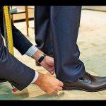 Как правильно подшить мужские брюки с тесьмой укоротить по длине классические брюки вручную