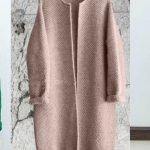 Как связать пальто спицами для девочки и женщины (новые модели) спицы или крючок, выкройка, схемы