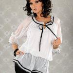 Фасоны блузок из шифона нарядные модели