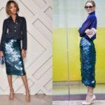 С чем надеть юбку с пайетками Какие фасоны существуют С чем ёё можно комбинировать Топ 5 образов с