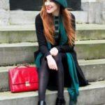 С чем носить берет зимой С чем его нельзя комбинировать Образы с зимним беретом