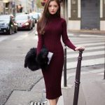 Платье водолазка с чем носить фото и примеры образов