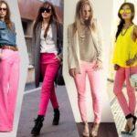 С чем носить розовые брюки подбор современных и эффектных образов