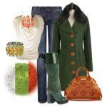 С чем носить сапоги цвета хаки Правила комбинирования с другой одеждой