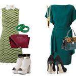 С чем носить зелёное платье С чем комбинируются зелёный и тёмно-зелёный Сочетания