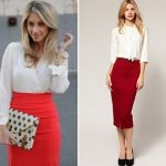 С чем одеть длинную юбку-карандаш кому подходит юбка-карандаш
