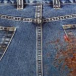 Способы выведения пятен от ржавчины с джинсовых вещей