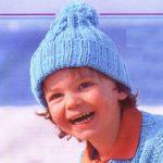 Шапка для мальчика спицами шапка для подростка с полосами
