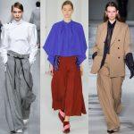 Широкие брюки как называются (короткие, длинные), кому походят, с чем носить