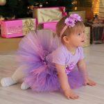 Платье из фатина для девочки своими руками как для девочки сшить нарядное платье из фатина