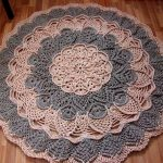 Сколько нужно трикотажной пряжи на коврик секреты вязания