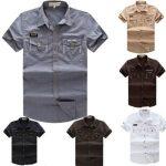Виды рубашек (мужских)