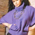 Как связать спицами свитер — летучая мышь — (со схемами) пошаговая инструкция по вязанию свитера —