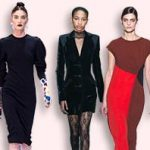Трикотажные платья 2019 новинки