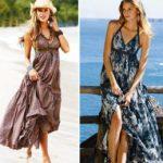 Виды сарафанов модели сарафанов (летних и зимних), модели летних сарафанов