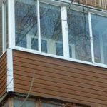 Внешняя отделка балкона своими руками, виды отделочных материалов