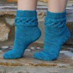 Вязание носков на 5 спицах как определить размер носков (таблица)