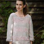 Вяжем пуловер оверсайз спицами описание и схема вязания