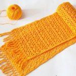 Узоры для вязания шарфа спицами и крючком двусторонний, двухцветный, ажурный, восточный; узор для