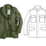 Выкройка мужской куртки снятие мерок и подготовка лекал к раскрою на ткани
