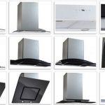 Вытяжки для кухни с отводом в вентиляцию, без отвода в вентиляцию