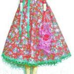 Как сделать юбку для куклы выкройка, как сшить своими руками