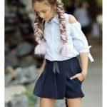 Юбка-шорты выкройка для девочки 2-3; 4-5; 10-14 лет (простые и оригинальные модели)
