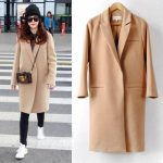 С чем носить бежевое пальто женское; мужское; пальто-халат, классическое до колена, оверсайз