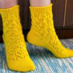 Ажурные носки спицами схемы с пошаговым описанием, фото работ, детские, женски ажурные носки спицами