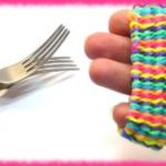 Как плести из резинок браслеты на вилке основы техники плетения браслета