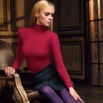 Бордовая водолазка с чем носить женщинам (фото), цветовые сочетания, обувь и аксессуары