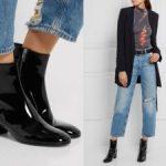 Как носить джинсы с ботильонами какие джинсы и ботильоны можно объединить