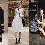 Броги с платьем как носить и сочетать обувь броги с разными платьями